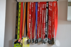 Charlie's Ultra Race medal Collection