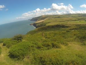 Stunning Scenery on Welsh Coast